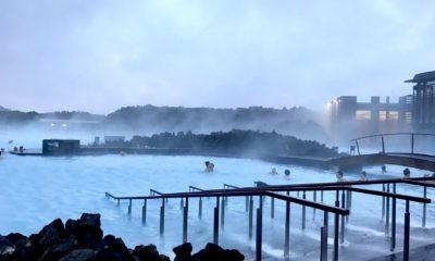 Błękitna Laguna to znane islandzkie uzdrowisko, gorące źródła na islandii