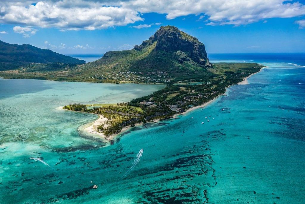 Le Morne Brabant na Mauritiusie,