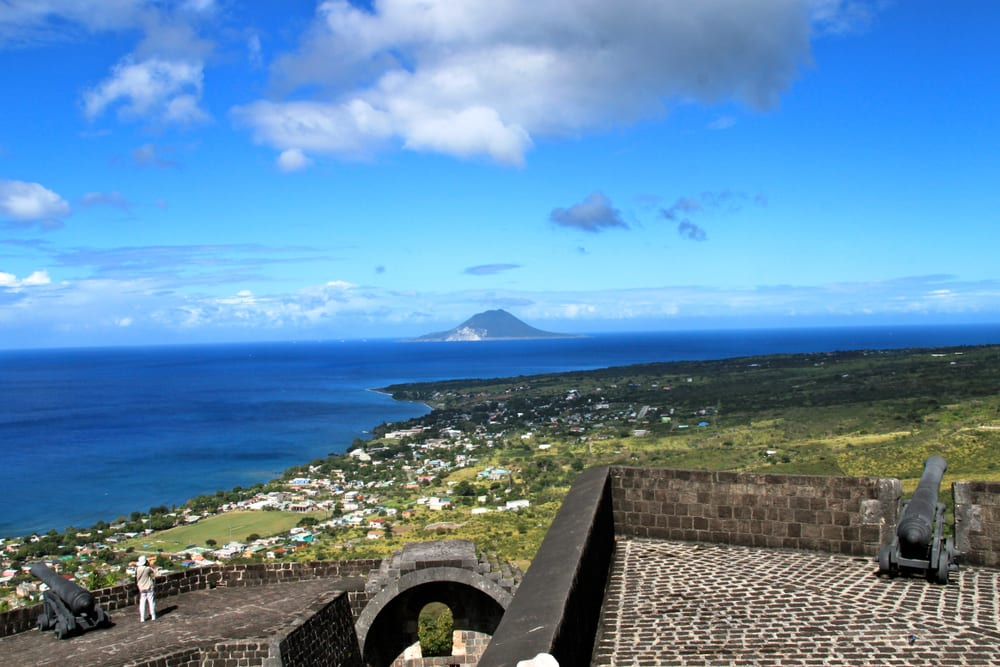 Brimstone Hill Fortress, karaiby