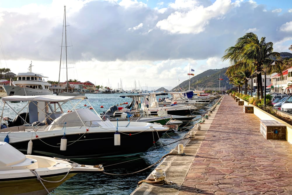 Gustavia, Saint-Barthélemy, karaiby
