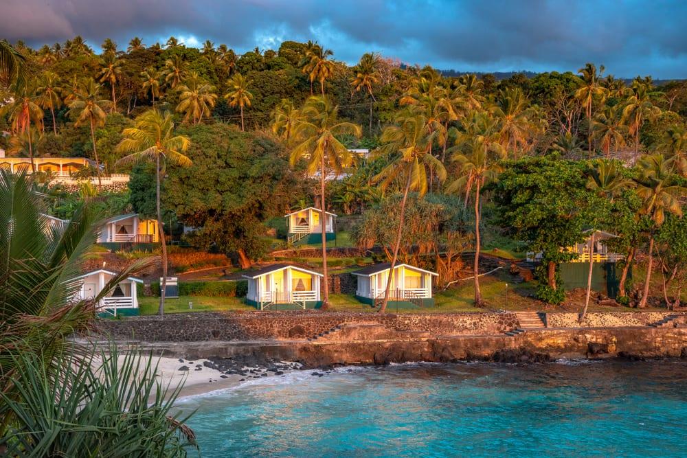 Na Komorach możesz spać m.in. w takich luksusowych chatkach,