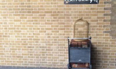 Peron 9¾, stacja kolejowa king's cross londyn harry potter