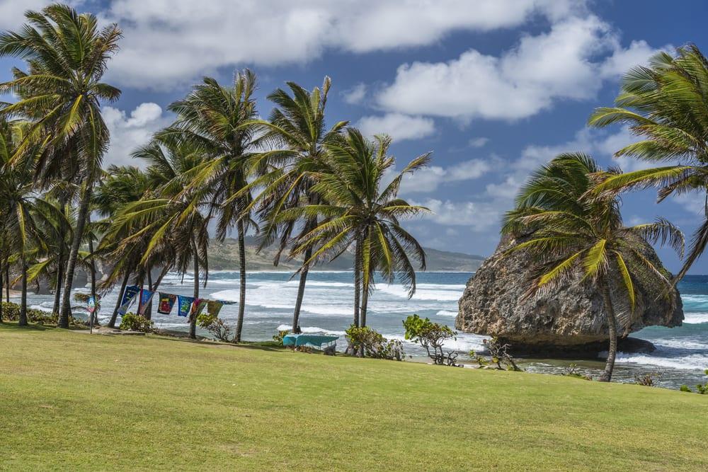 Plaża Bathsheba, Barbados,