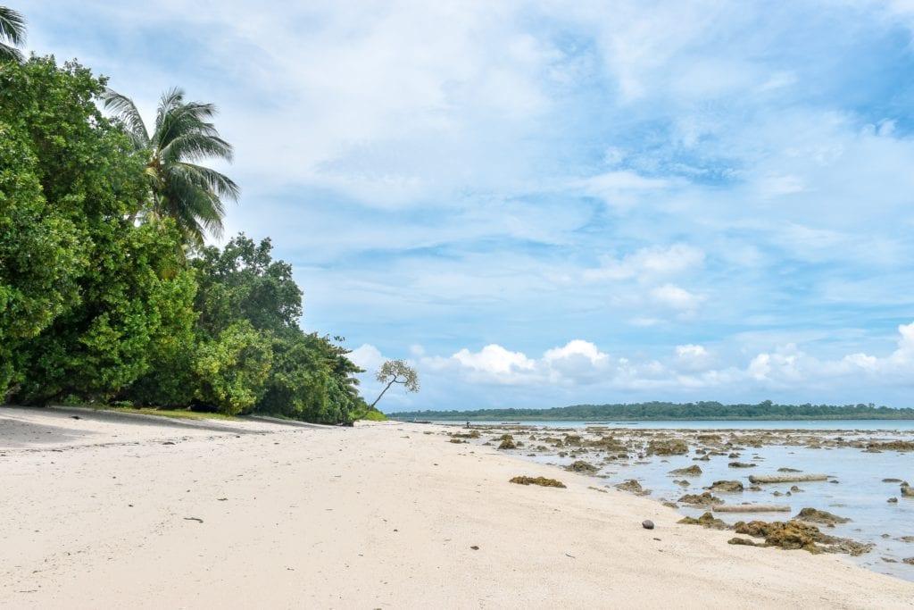 Plaże na Adnamanach,