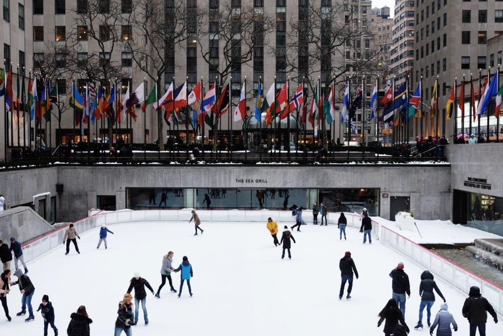 Rockefeller Plaza, Nowy Jork, NYC