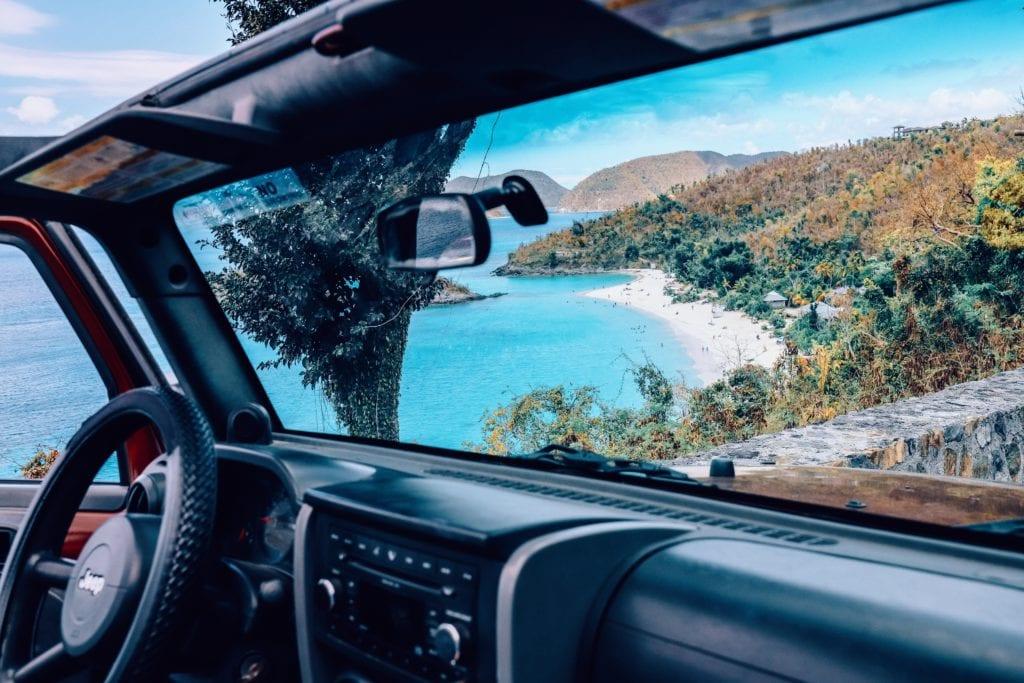 Trunk Bay, Wyspa św. Jana, Saint John island karaiby