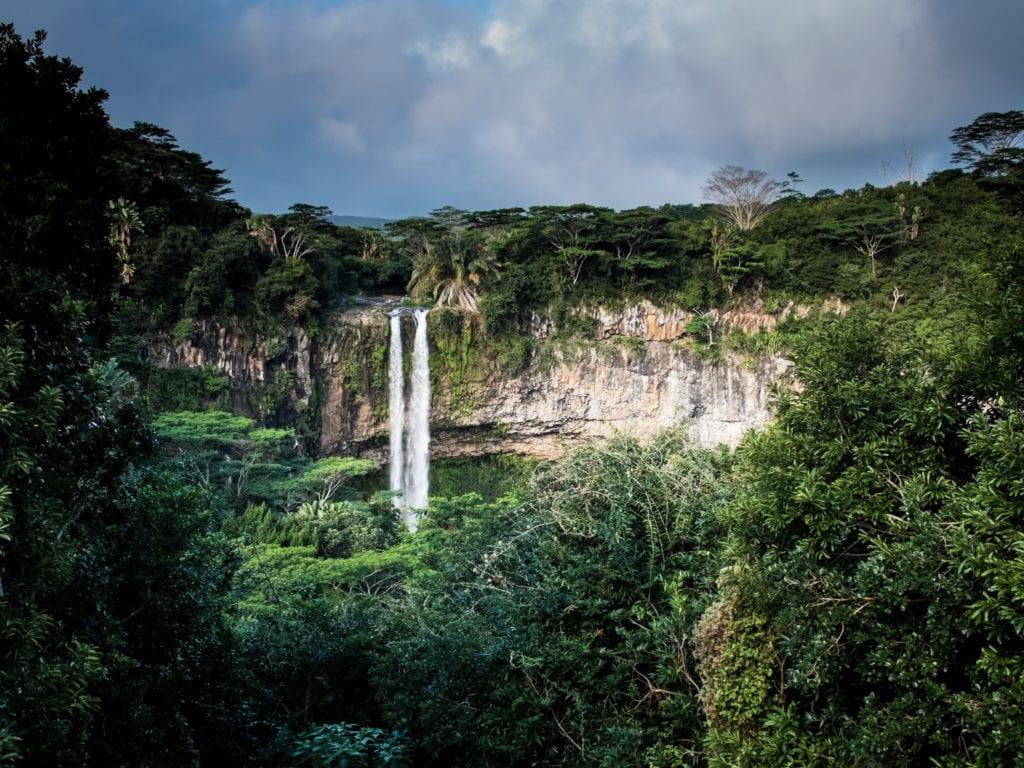 Wodospad Chamarel Mauritius