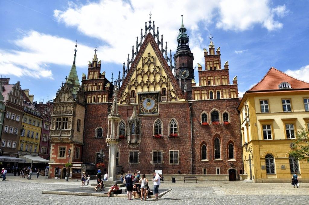 Wrocław, tanie bilety lotnicze z Wrocławia