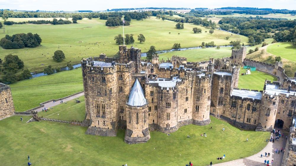 Zamek Alnwick, Harry Potter Szkocja