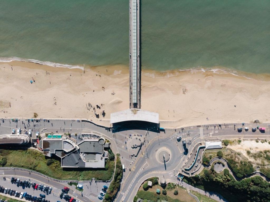 Boscombe Promenade, Bournemouth,