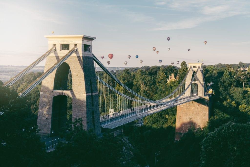 Clifton Suspension Bridge, Bristol,