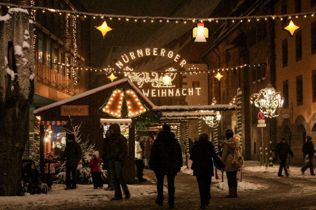 Jarmark bożonarodzeniowy w Norymberdze,