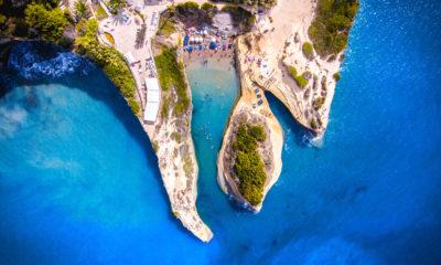 Kanał D'amour, Korfu