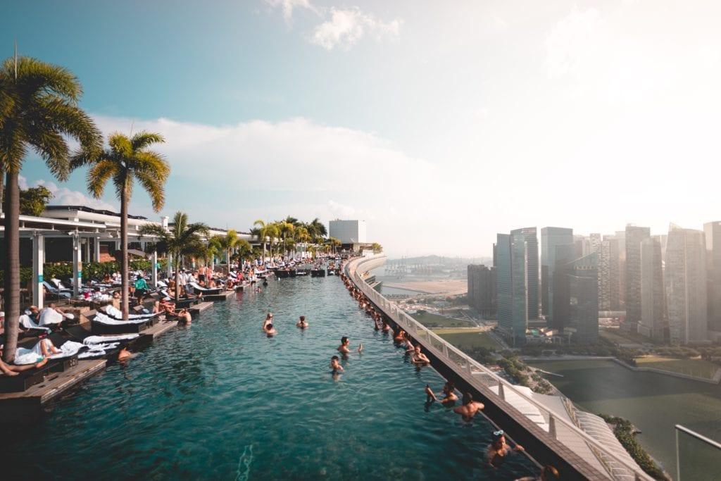 Marina Bay Sands Hotel, Singapur,