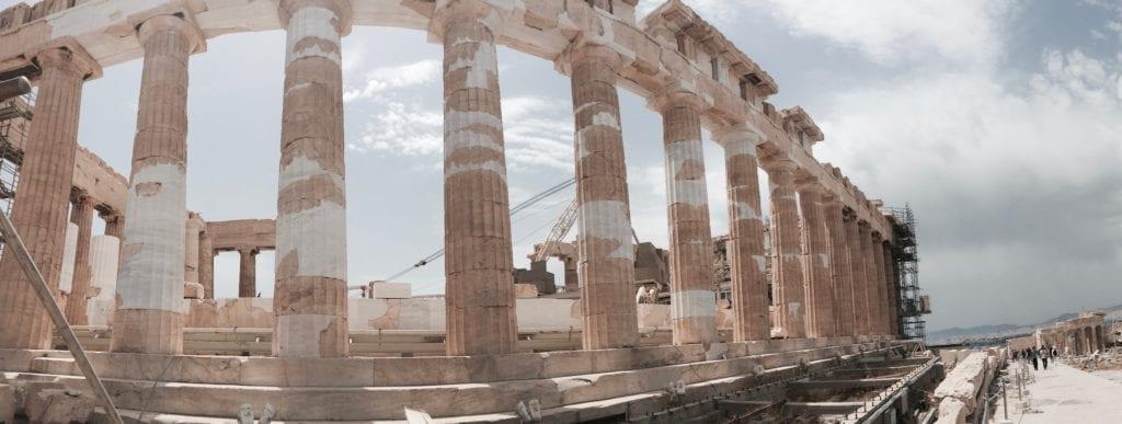 Na Akropolu, Ateny