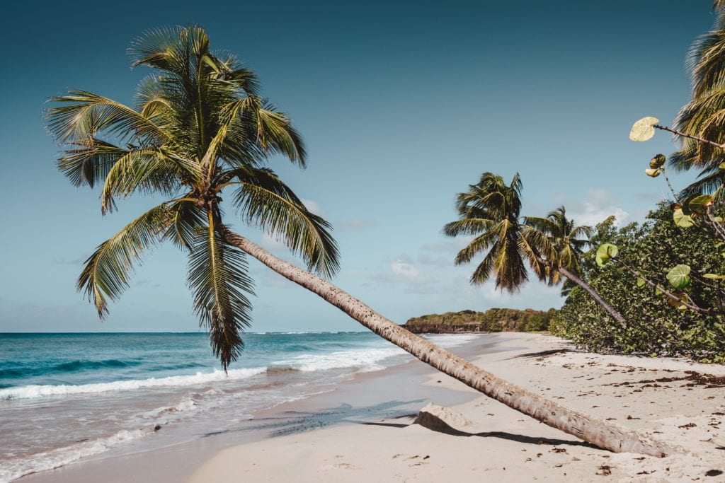 Plaże na Martynice,