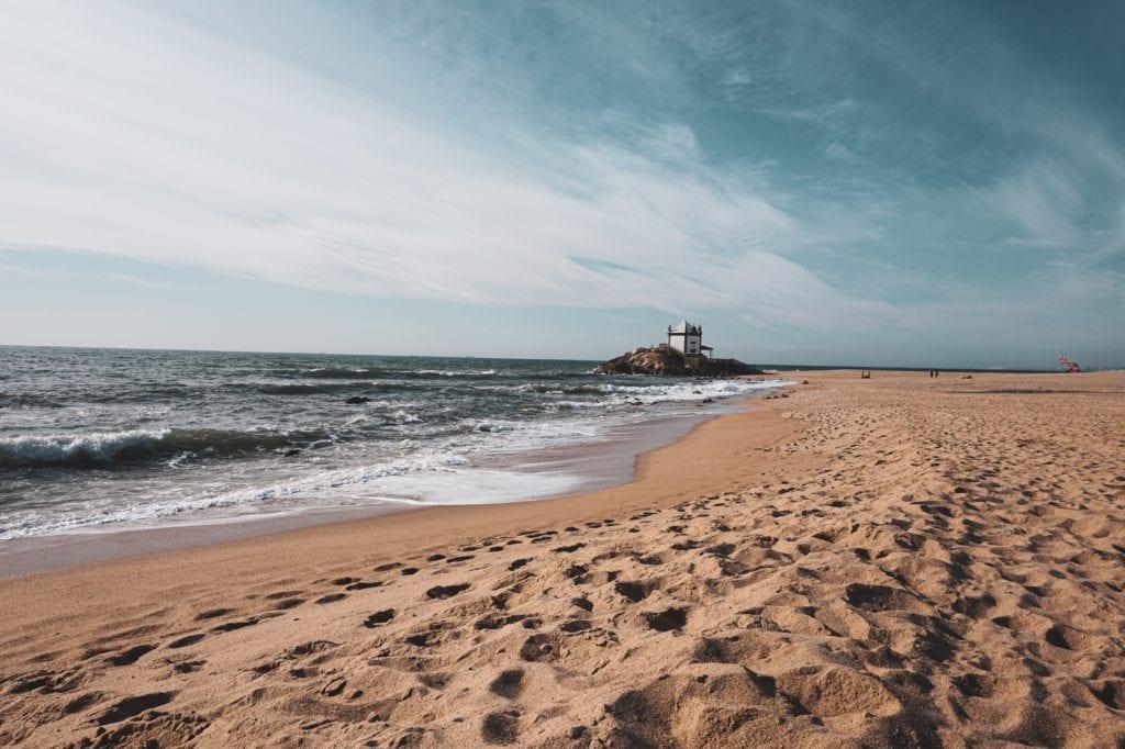 Plaże w okolicy Porto,