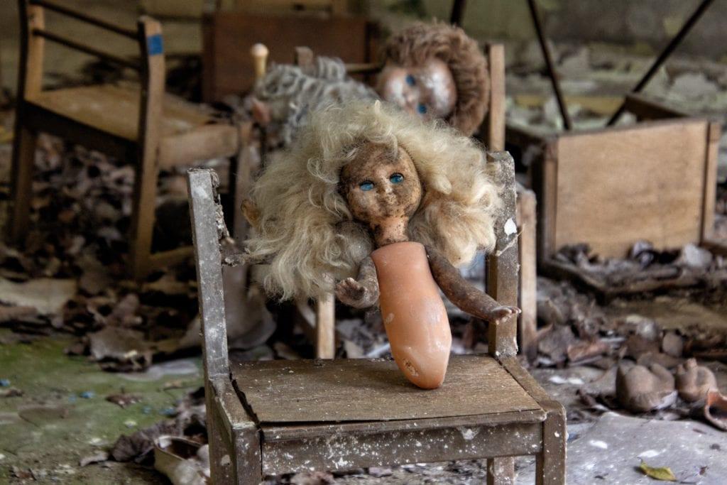 Prypeć, Czarnobyl Ukraina