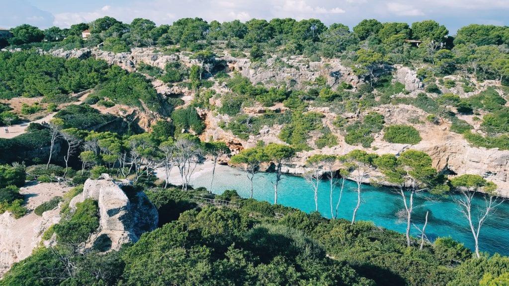Romantyczne zatoczki na Majorce,