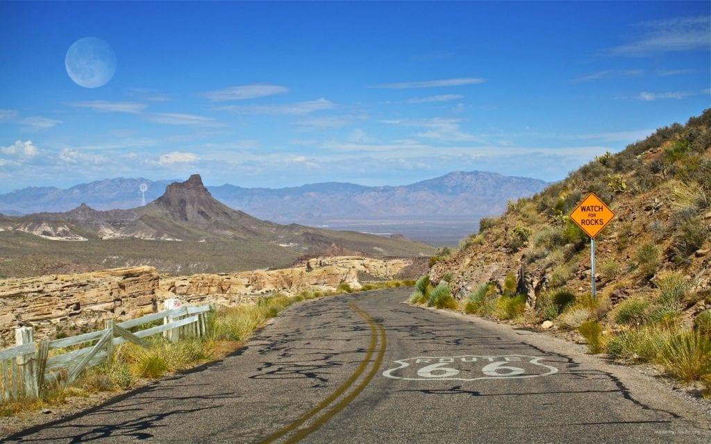 Route 66 w Arozonie,