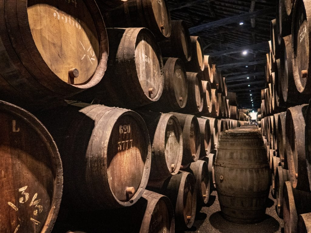 Taylor's winery, Porto,