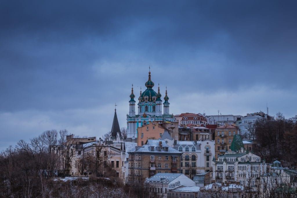 W Kijowie znajduje się wiele świątyń