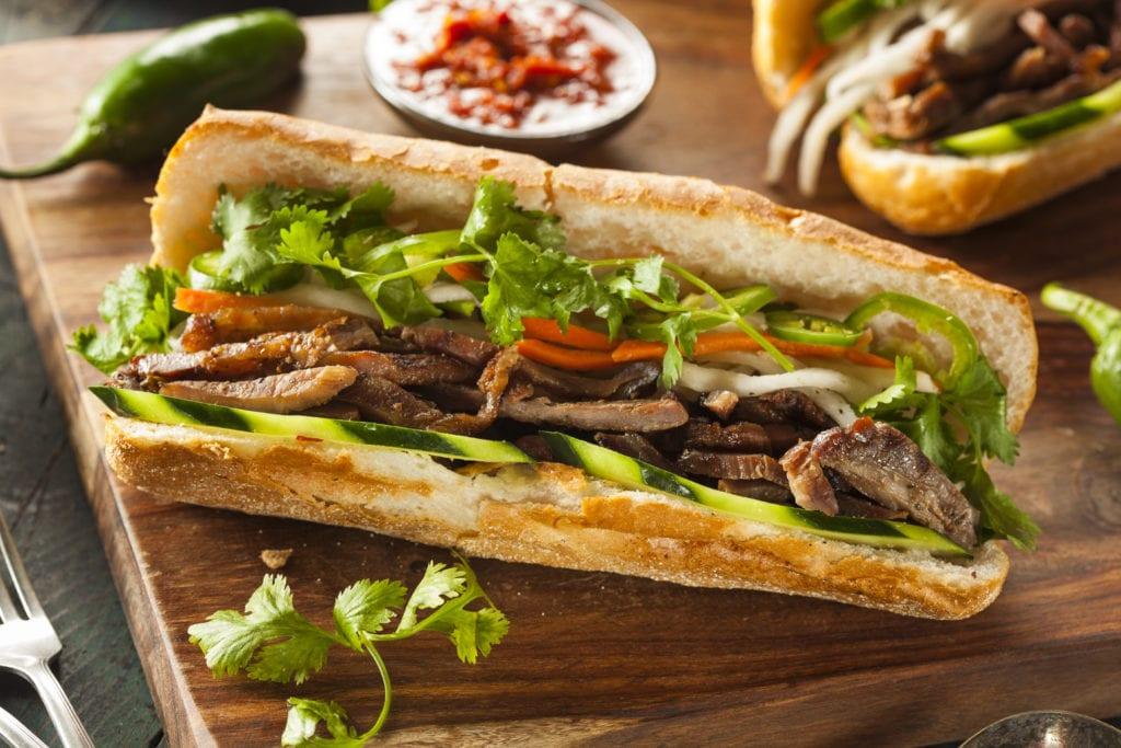 Banh mi - wietnamska kanapka
