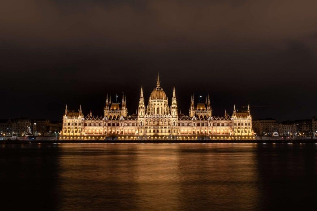Budynek parlamentu w Budapeszcie,