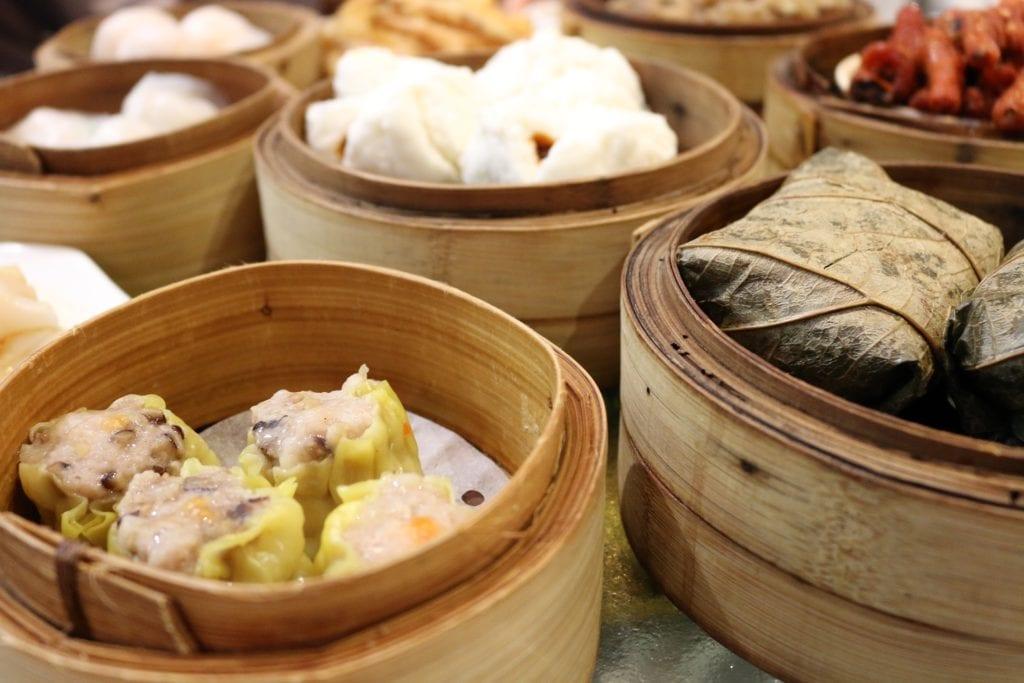 Dim-sum są lokalnym przysmakiem, Hong Kong