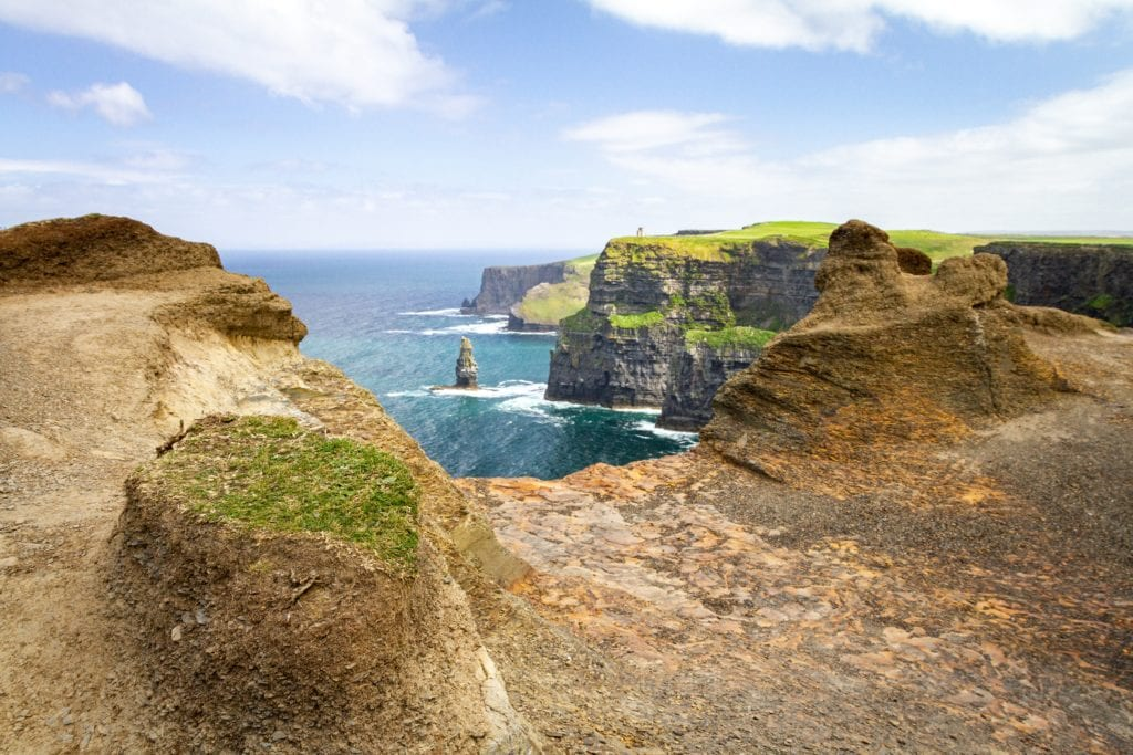 Klify Moheru, Irlandia