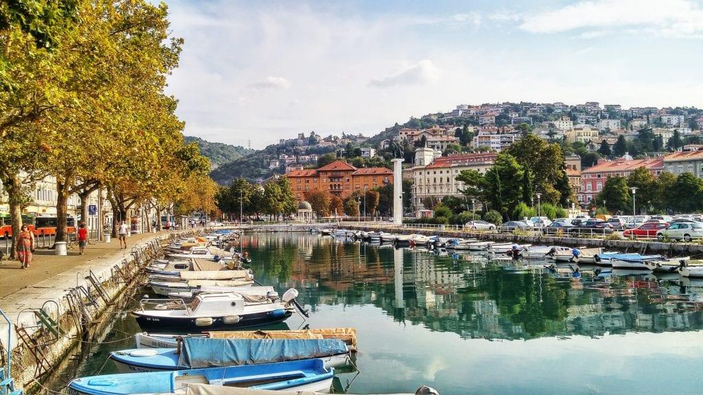 Rijeka. Chorwacja