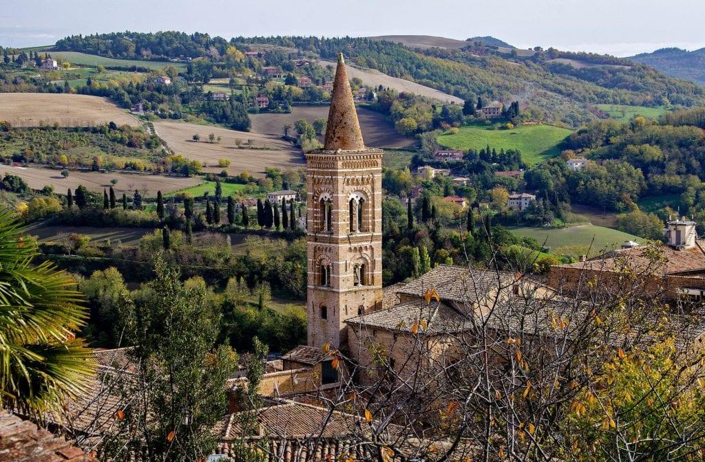 Urbino, region Marche Włochy