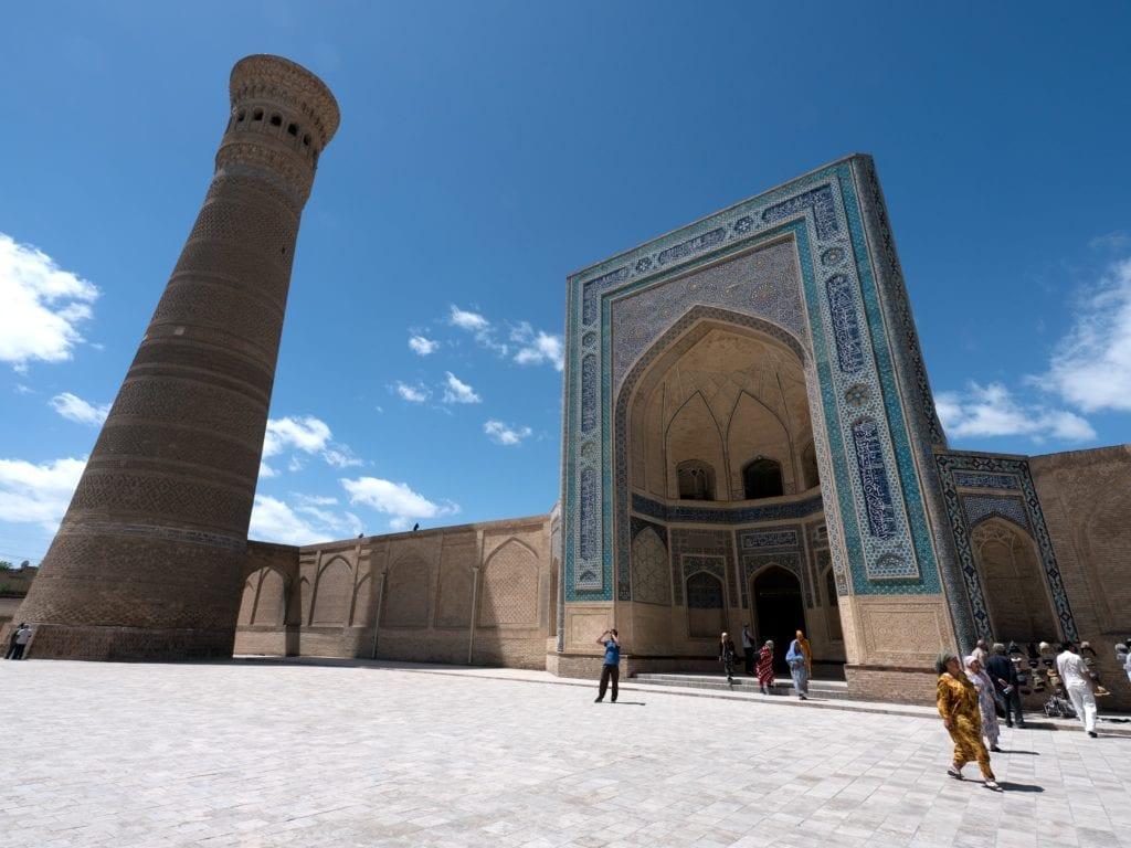 Uzbekistan znajduje się na trasie Jedwabnego szlaku,