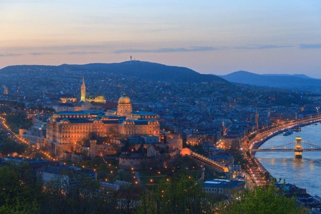 Wzgórze Zamkowe w Budapeszcie,