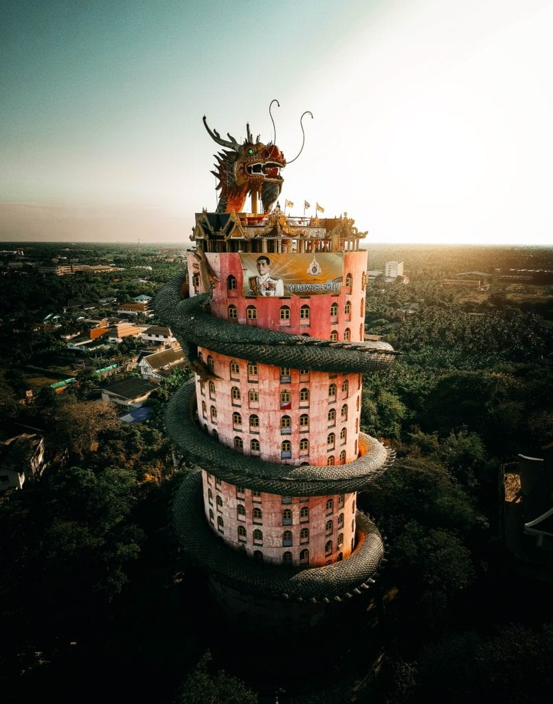 Świątynia Wat Samphran, Bangkok,