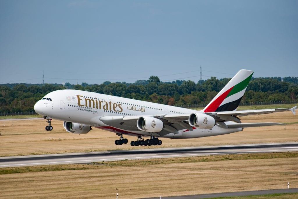 Airbus A380 Emirates,