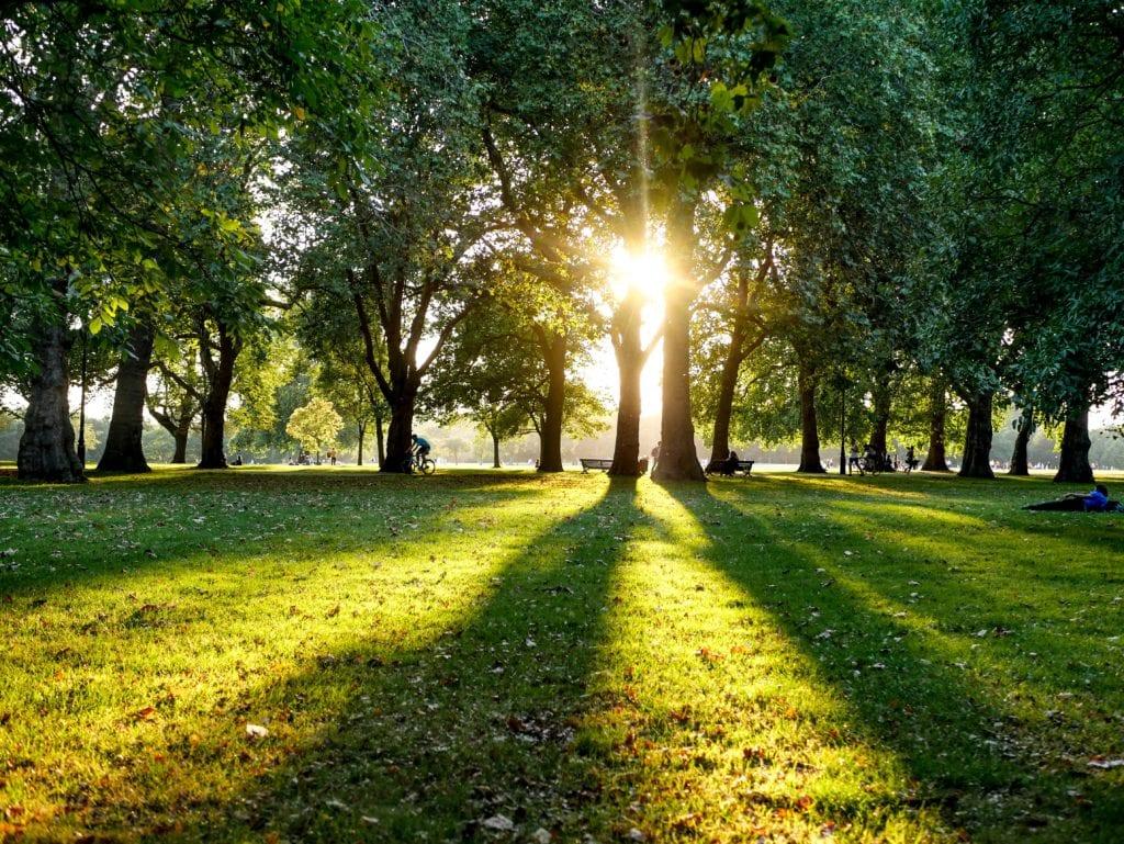 Hyde Park - sposób na chwilę odpoczynku w Londynie,
