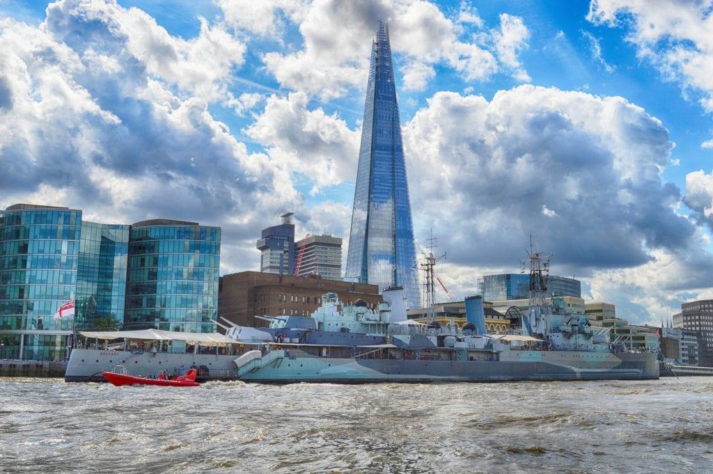 Londyński The Shard