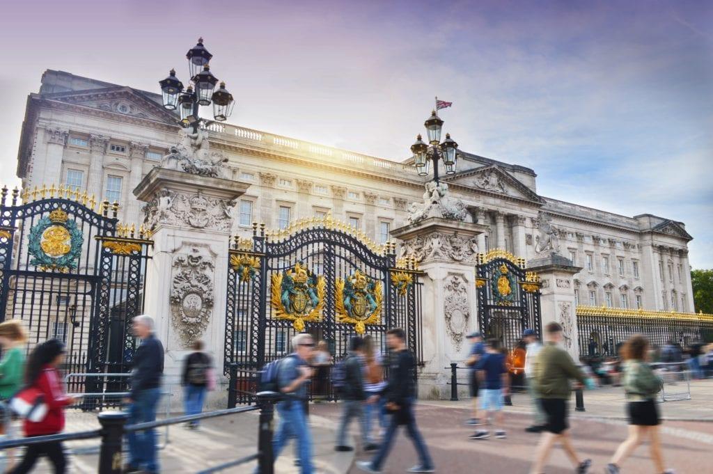 Pałac Buckingham w Londynie,