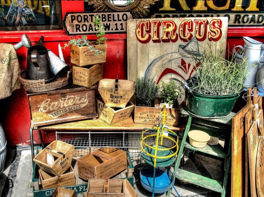 Portobello Road Market – tu kupisz oryginalne pamiątki z Londynu, Londyn