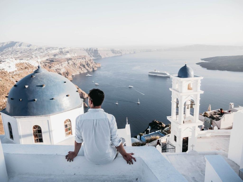 Santorini, grekca wyspa