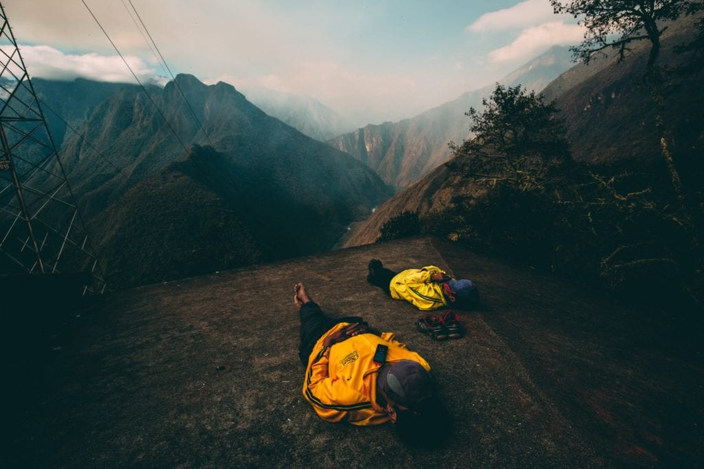 Inca Trail w Peru,