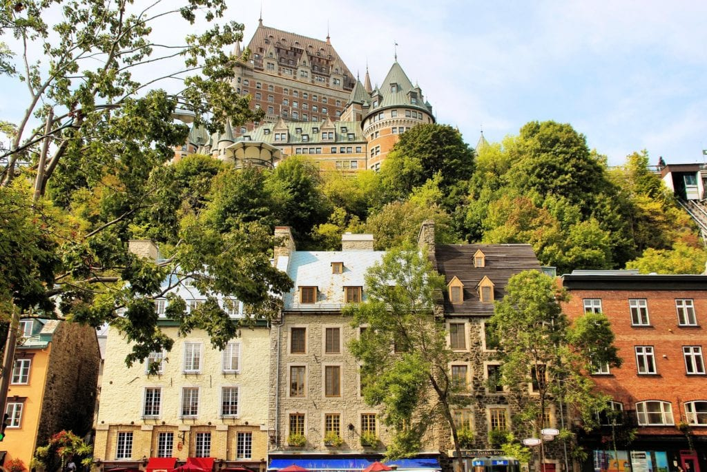 Stary Quebec, Kanada