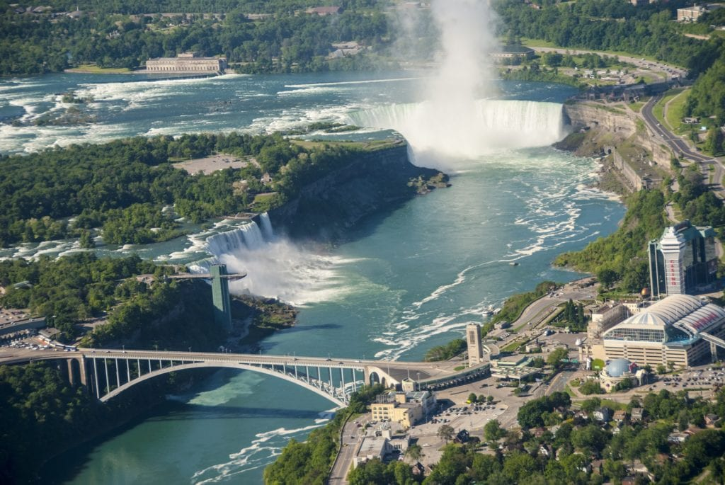 Wodospad Niagara, USA Kanada