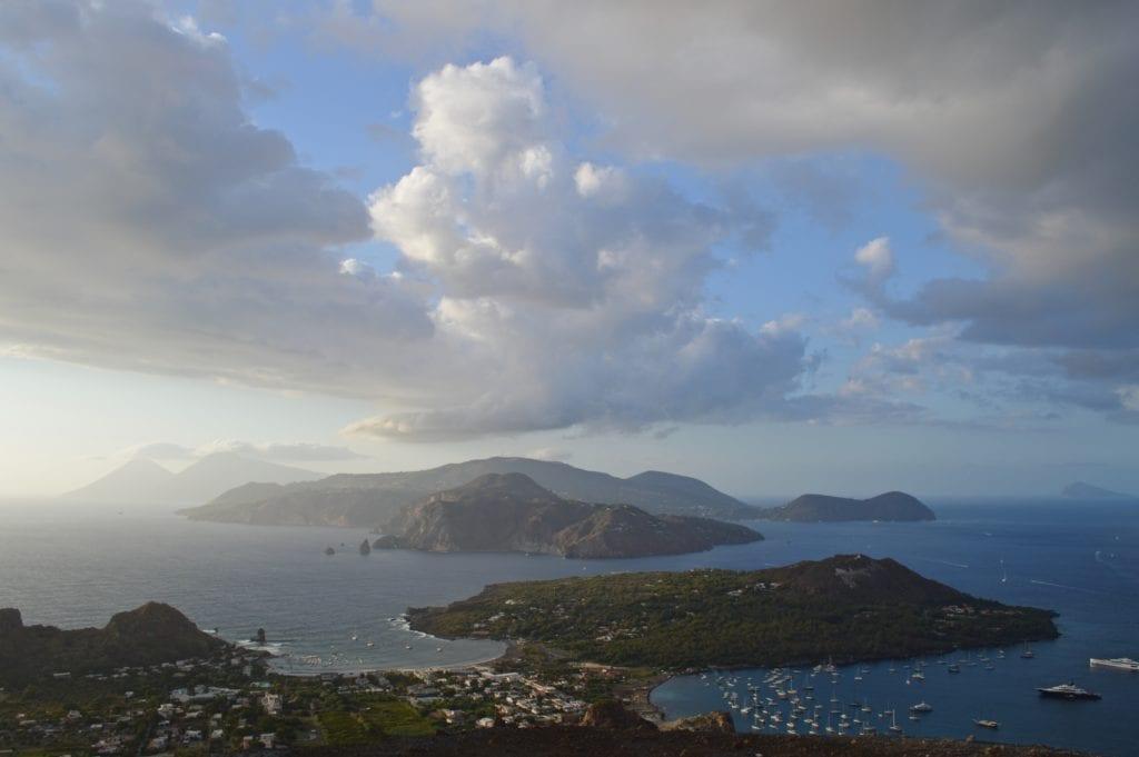 Wyspa Vulcano, niedaleko Sycylii