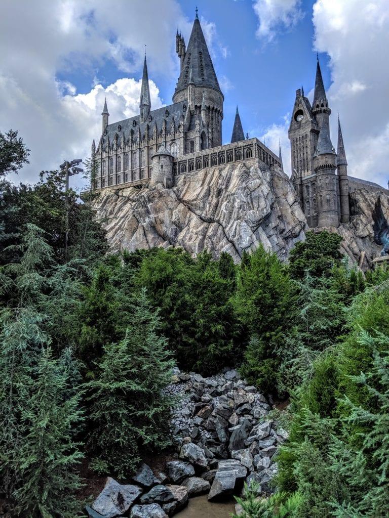 Zamek Hogwart, Orlando USA