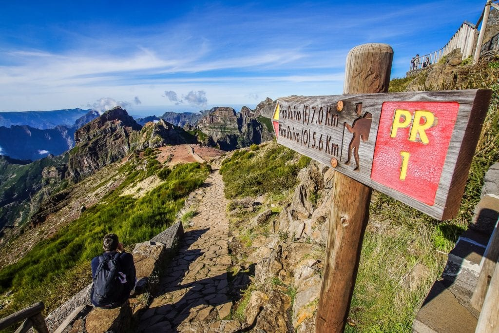 Maderę warto pokonać pieszo, jest tu wytyczonych wiele szlaków