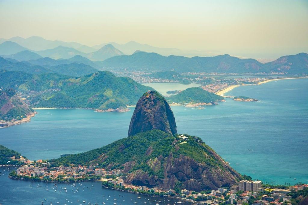 Pao de acucar (Głowa Cukru) w Rio, Brazylia