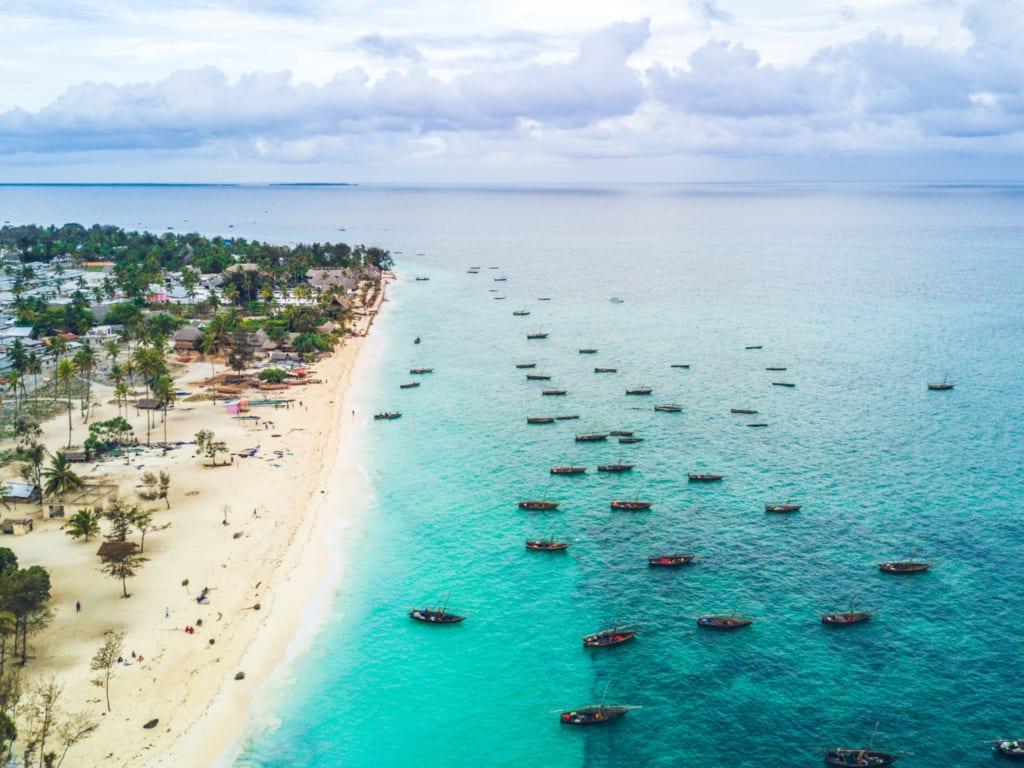 Plaża Nungwi, Zanzibar
