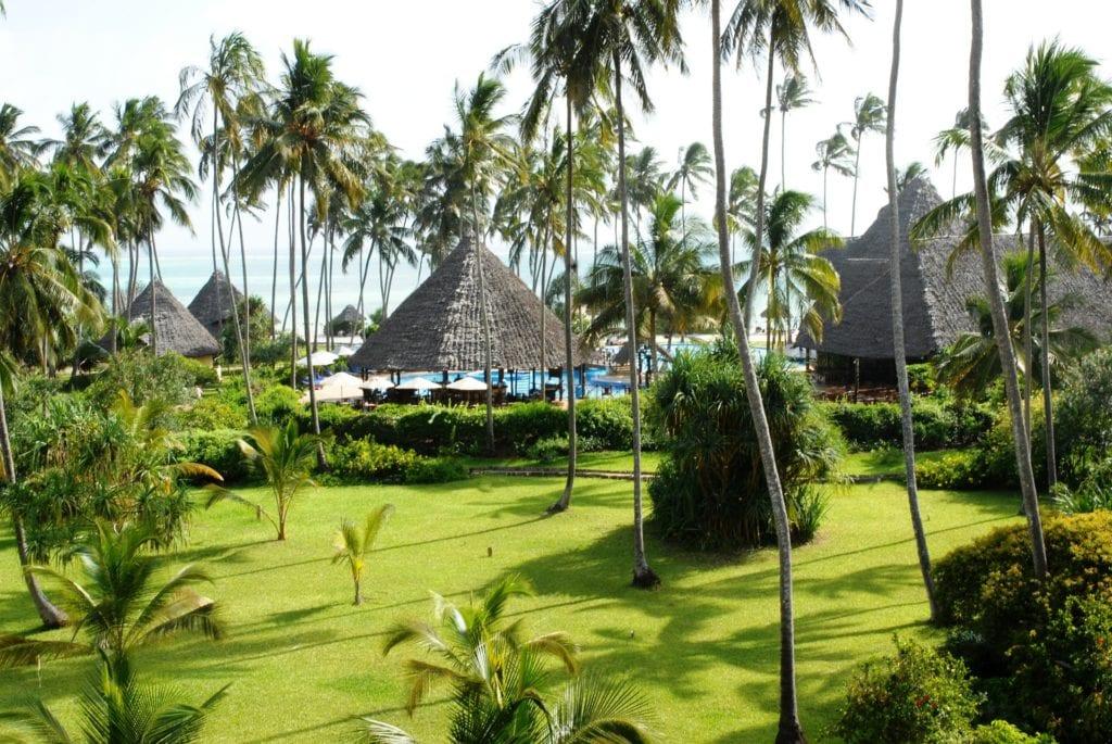 Tropikalny resort na Zanzibarze,